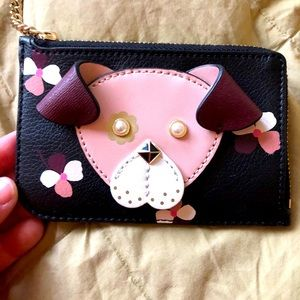 Kate Spade Puppy Card case